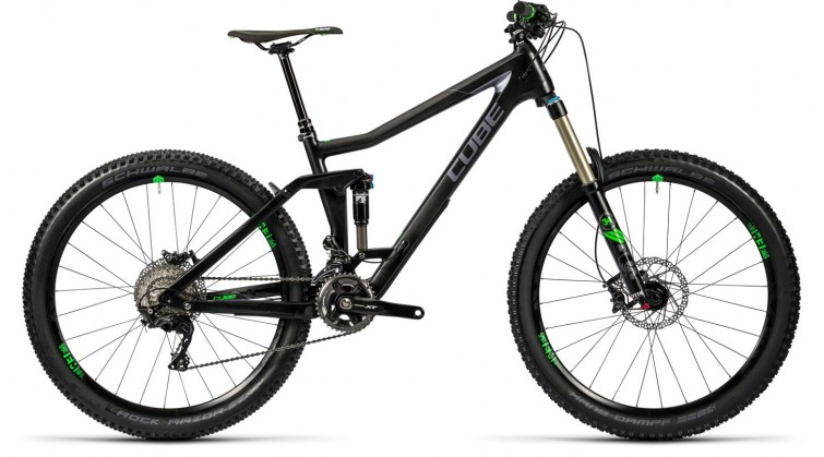 Cube Stereo 160 C:62 Race carbon'n¨green