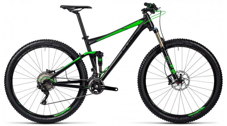CUBE Stereo 120 HPA SL black'n'green