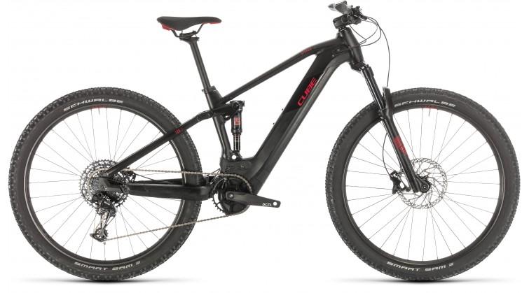 CUBE STEREO HYBRID 120 PRO 625 BLACK/RED 2020