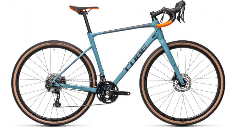 NUROAD RACE GREBLUE/ORANGE 2021