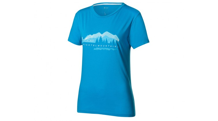 CUBE WLS T-Shirt Fichtelmountains, petrol L