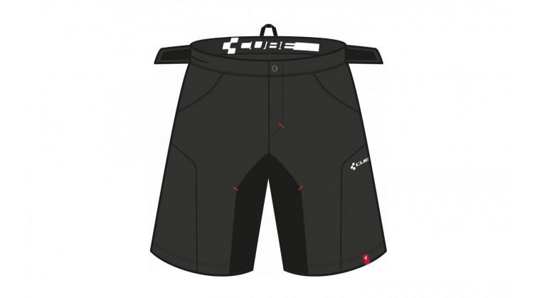 CUBE Motion WLS kalhoty odepínatelné vložky