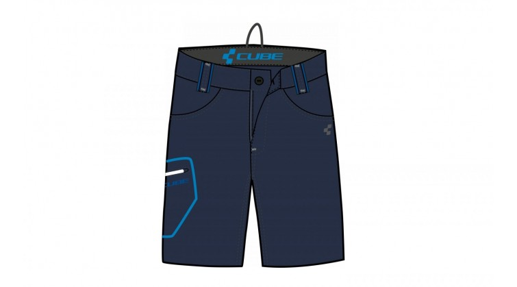 CUBE Denim kalhoty (2014)