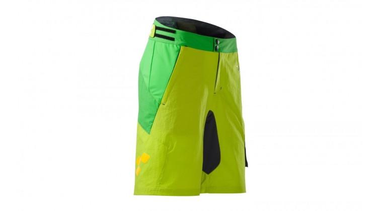 CUBE AM kalhoty green/lime