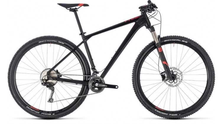 CUBE REACTION PRO 27.5/29 BLACK/RED 2018