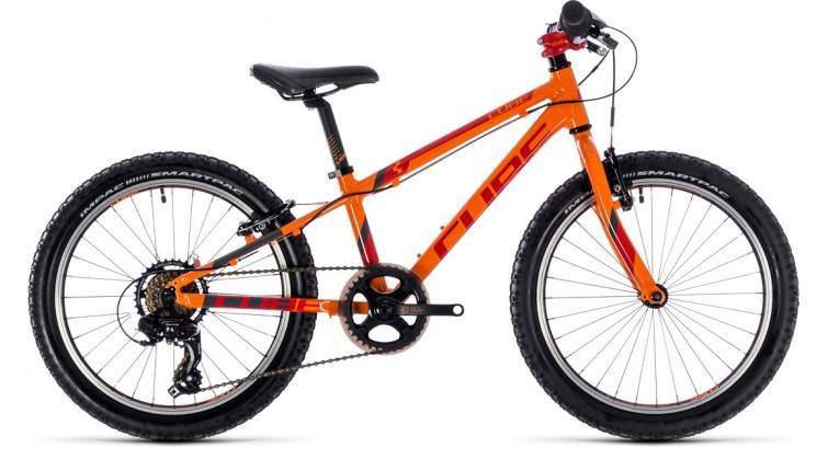 CUBE KID 200 ORANGE/RED